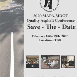 2020 MAPA/MDOT Quality Asphalt Conference