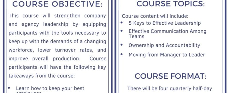 MAPA / MDOT Leadership Academy