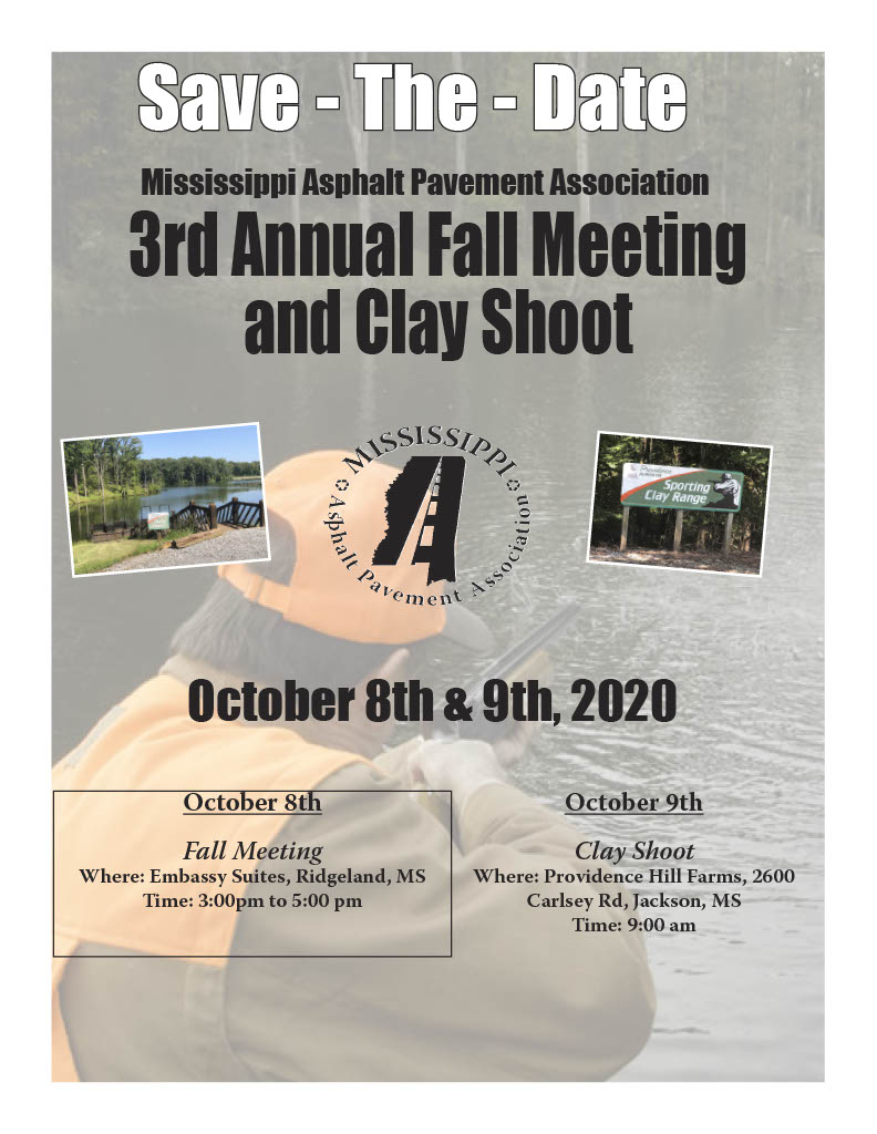3rd Annual Fall Meeting and Clay Shoot